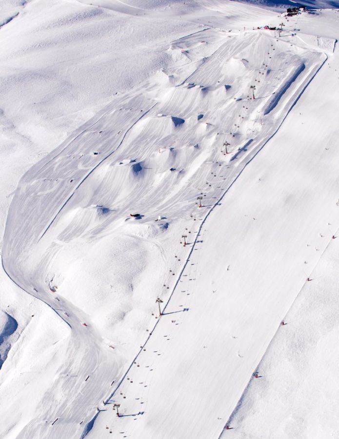 mottolino snowpark