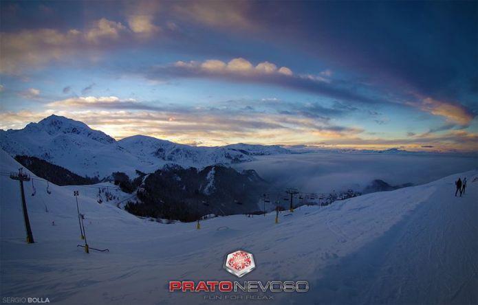 Snowpark Prato Nevoso: uno dei primi dell'Arco Alpino