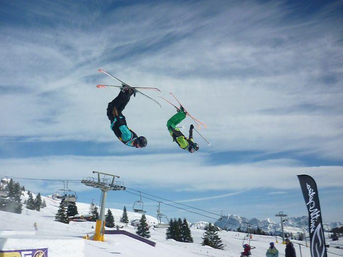 SanPe Snowpark un posto speciale per allenarsi