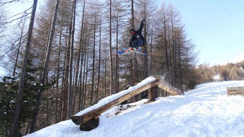 The Forest: un freestyle park con strutture in legno
