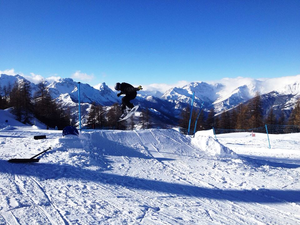 Sauze Snowpark Ride Friendly