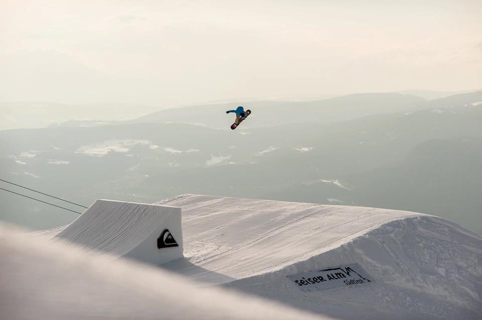La magia dello snowpark Seiser Alm
