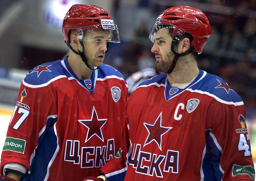 KHL: il primo round della finale è del CSKA