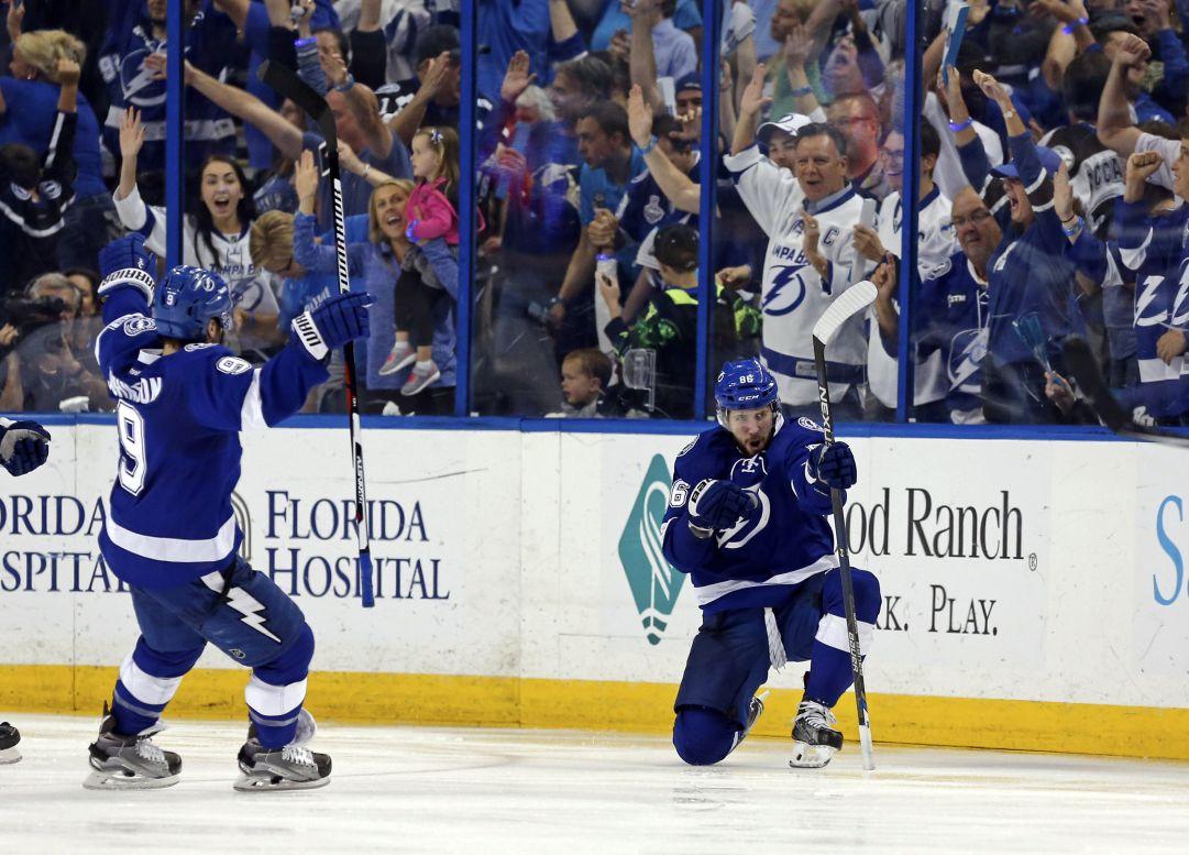 NHL: la prima finalista di Conference è Tampa Bay