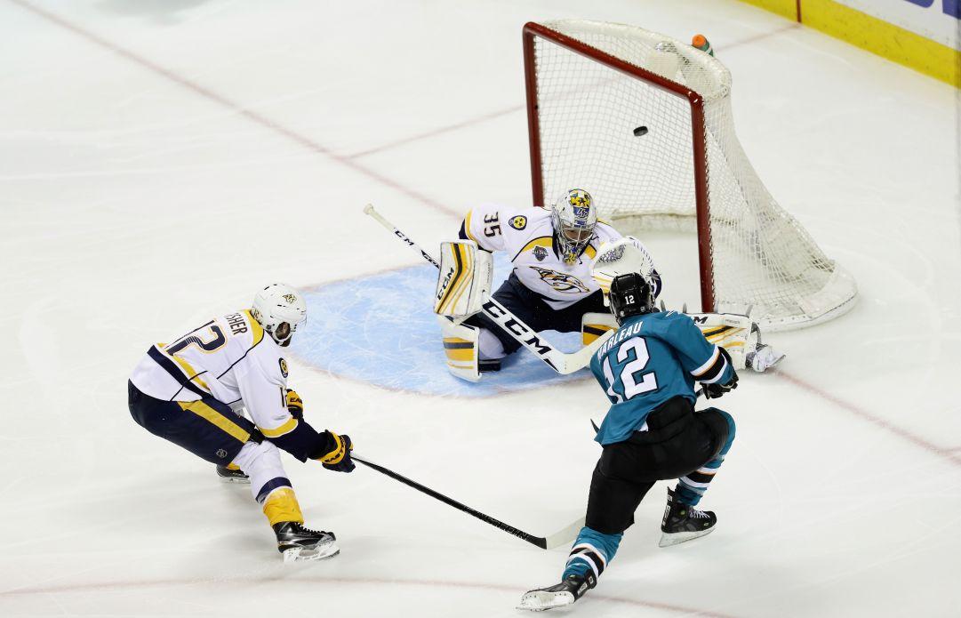 NHL: gli Sharks schiantano i Predators e sono in finale di Conference