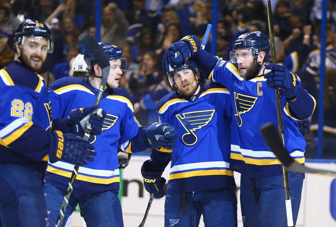 NHL: i Blues vincono gara 1 contro gli Sharks