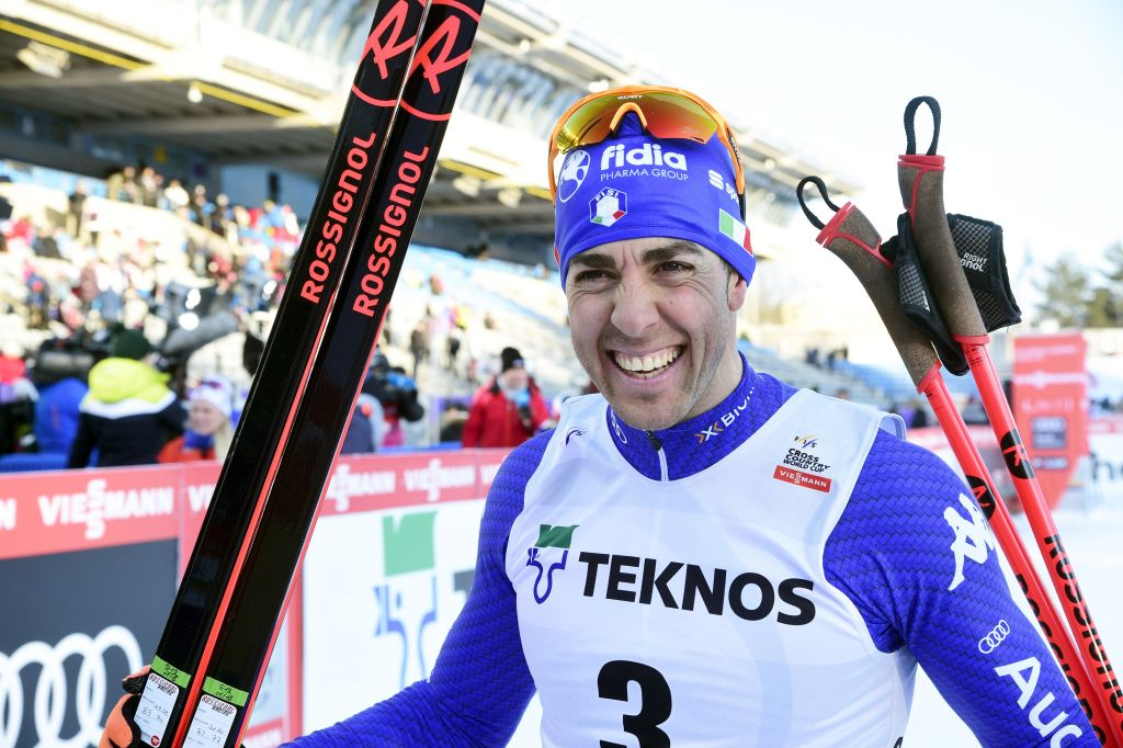 Federico Pellegrino ritorna sul podio dopo 40 giorni: secondo dietro a Klaebo a Lahti