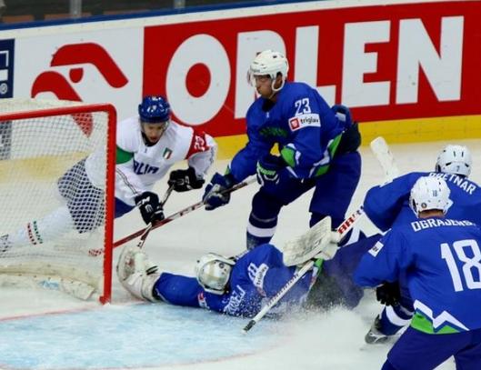 Mondiali Div I A: l'Italia si inchina alla Slovenia