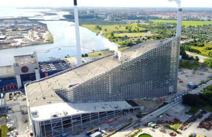 Copenaghen: è pronta la pista sull'inceneritore