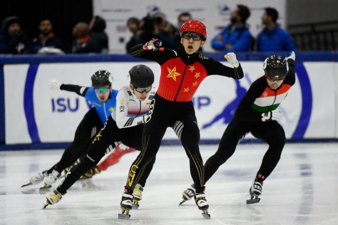 Short Track: Wu Dajing dominante a Salt Lake. Quarti posti di Valcepina e staffetta maschile
