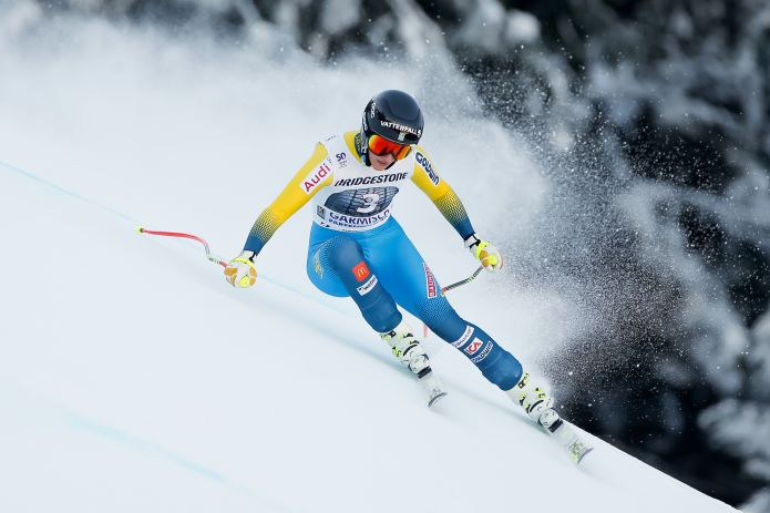 Kajsa Kling la prima a partire nel SuperG di Garmisch. Goggia con il 4, Gut 7, Vonn 13