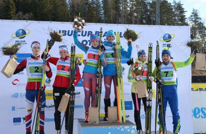 IBU CUP: Russia e Norvegia vincono le ultime prove miste