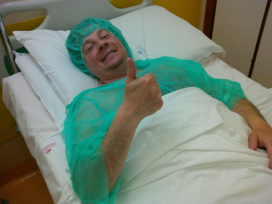 Attesa prima dell'intervento
