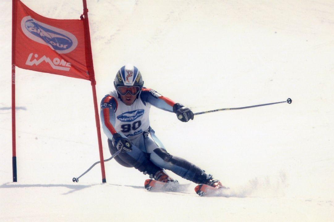 Foto scattata alla FIS di Limone Piemonte Skier: Andrea Bergamasco