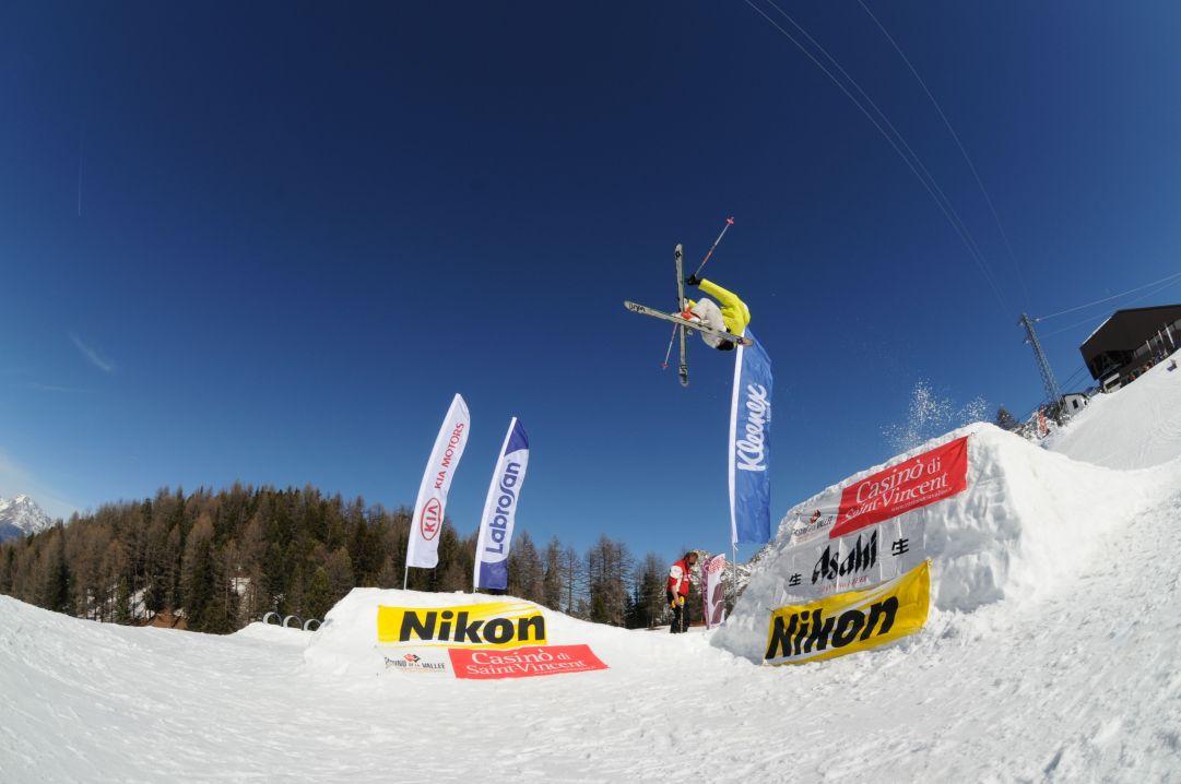 Skier: Andrea Bergamasco Foto: Herik Henchoz