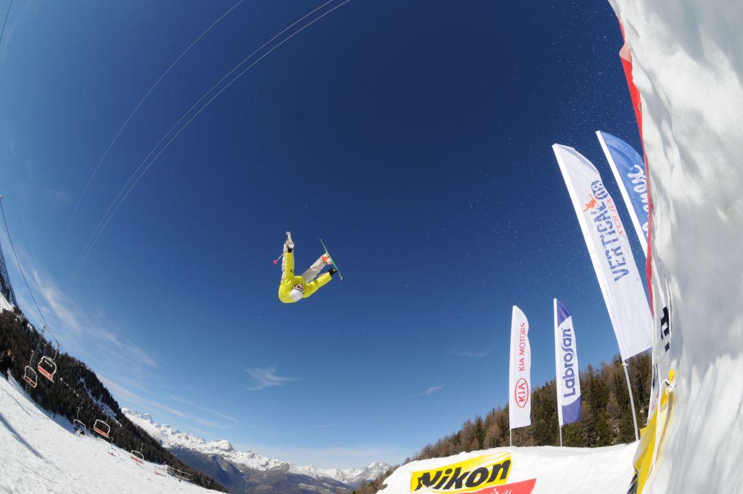 Skier: Andrea Bergamasco Foto: Herik Henchoz Nikon D300s