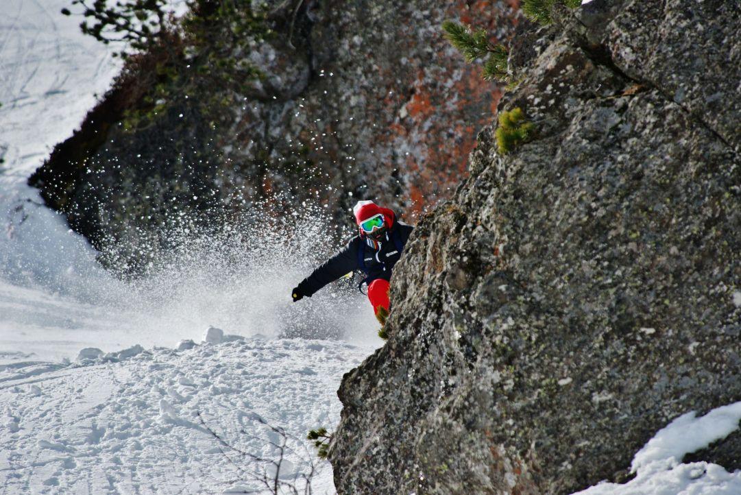 NEVEITALIA TEST 2014-2015 Pampeago  Foto: Enrico Pozzi www.fotopozzi.com  Camera: Nikon D800  Skier: Andrea Bergamasco