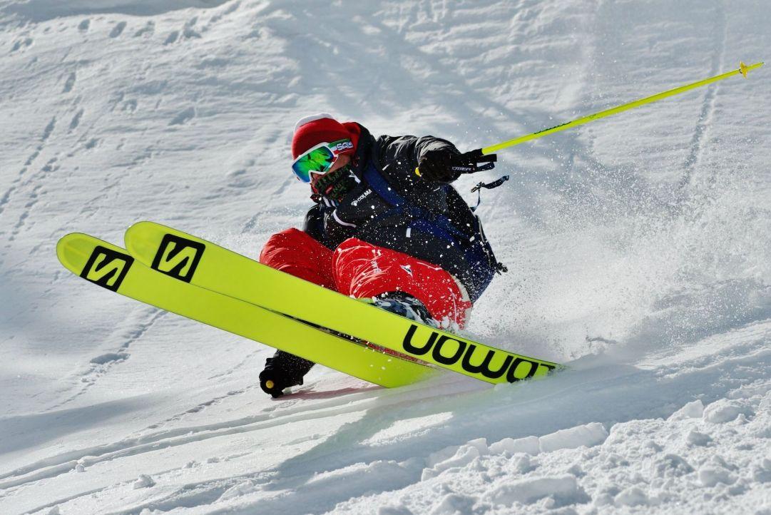 Foto scattata ai Test Sci Neveitalia Skier: Andrea Bergamasco