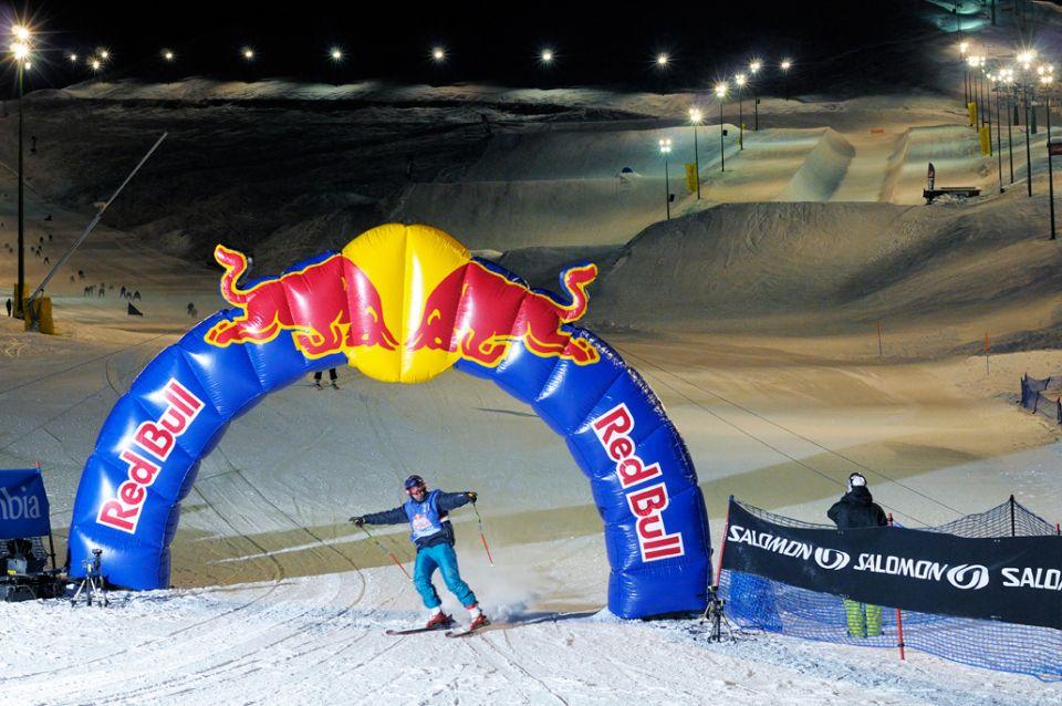 Foto scattata durante l'evento Red Bull Discesa Libera Skier: Andrea Bergamasco 1° class Foto: Matteo Ganora Nikon D300s