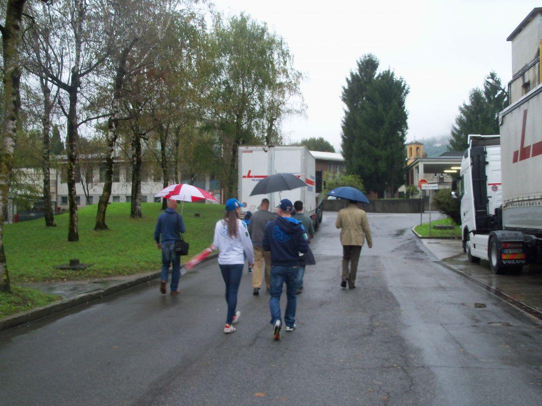 Tempo inclemente su Lecco, ma nonostante la pioggia Lisa Vittozzi e Lukas Hofer non hanno bisogno di ombrelli