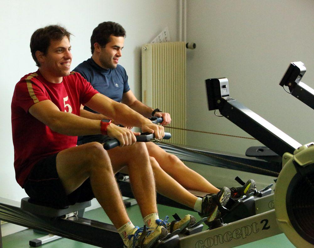 Maikol e Giuseppe si preparano per la Boat Race?
