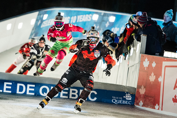 Cameron Naasz trionfa nell'apertura stagionale del Red Bull Crashed Ice a Quebec City