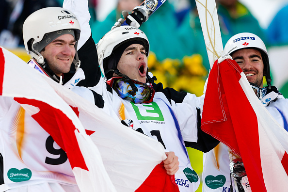 Mikael Kingsbury e Hannah Kearney oro nelle dual moguls. Tripletta canadese in campo maschile. Si ritira Giacomo Matiz