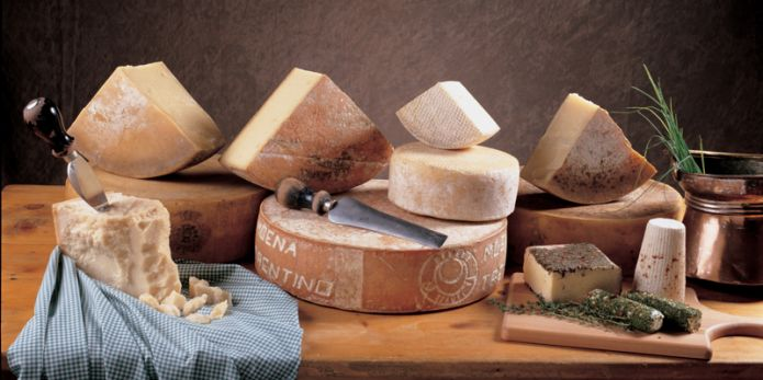 Quanti formaggi ha il Trentino Alto Adige?