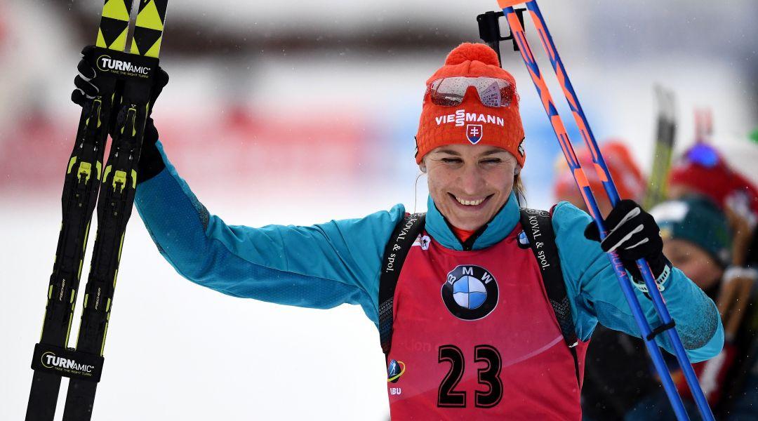 Kuzmina fa il vuoto nella Sprint di Le Grand Bornand, quarta Lisa Vittozzi