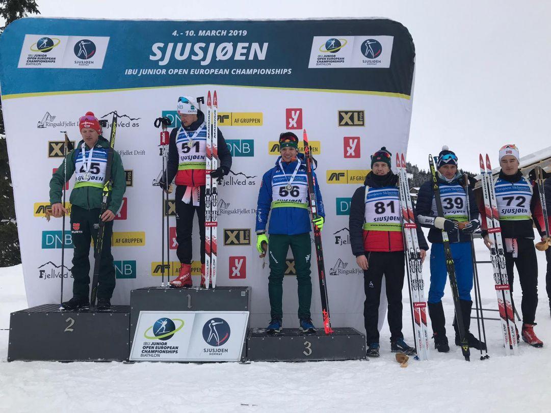 FOTOGALLERY: Tommaso Giacomel è terzo nella Sprint di Sjusjoen