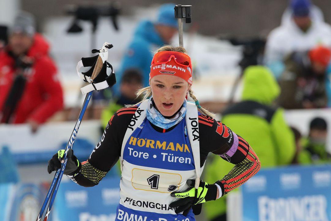 Denise Herrmann detta legge nella Sprint di Östersund, Lisa Vittozzi a un passo dal podio