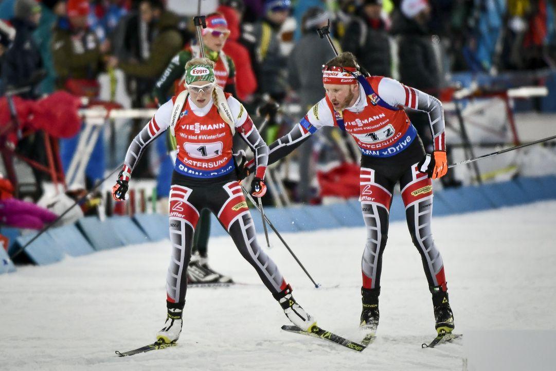 A Östersund è subito l'Austria a fare la voce grossa, bene l'Italia