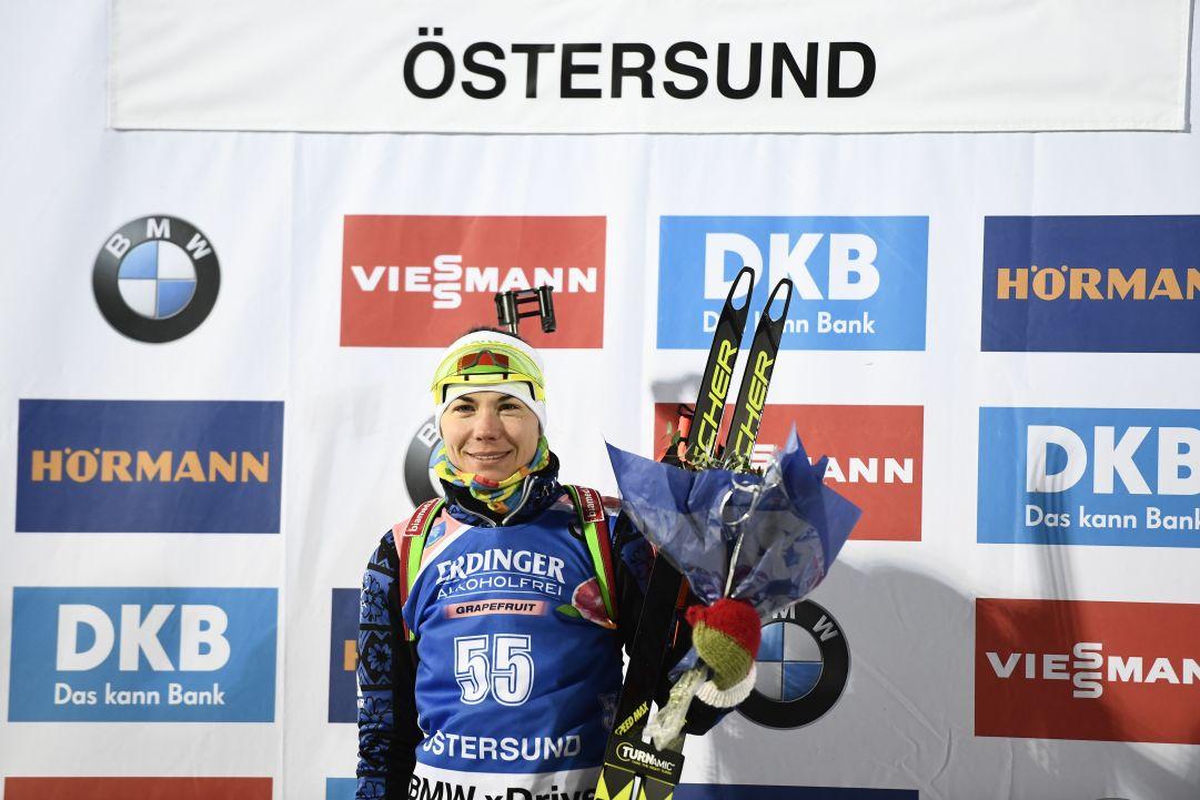Skardino vince l'individuale di Östersund, Vittozzi la migliore delle azzurre