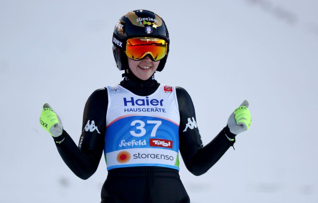 Lara Malsiner brilla a Hinzenbach, terzo posto e primo podio in carriera in Coppa del Mondo