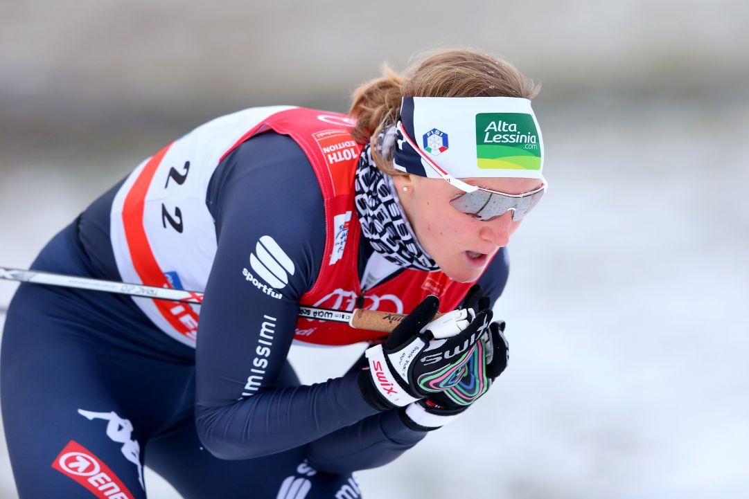 Lampic e Klæbo festeggiano nella Sprint della Val di Fiemme, una super Lucia Scardoni è quinta