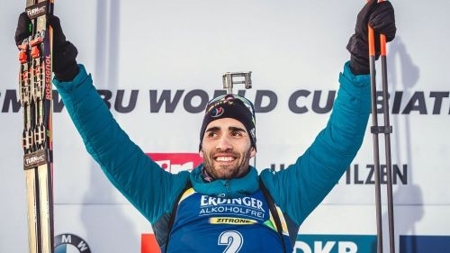 Biathlon: La classifica di Coppa del Mondo maschile. Martin Fourcade sale al secondo posto