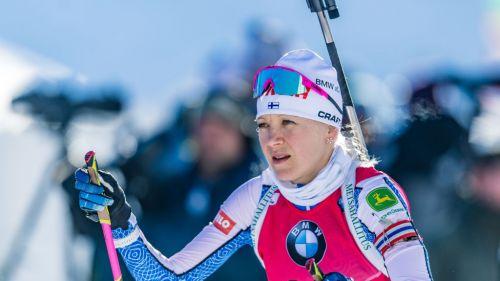 Biathlon: Mäkäräinen trionfa nell'Inseguimento di Hochfilzen, terza Wierer