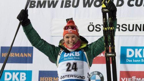 Herrmann fa doppietta a Östersund e avanza la candidatura per la Coppa del Mondo, 4a Lisa Vittozzi