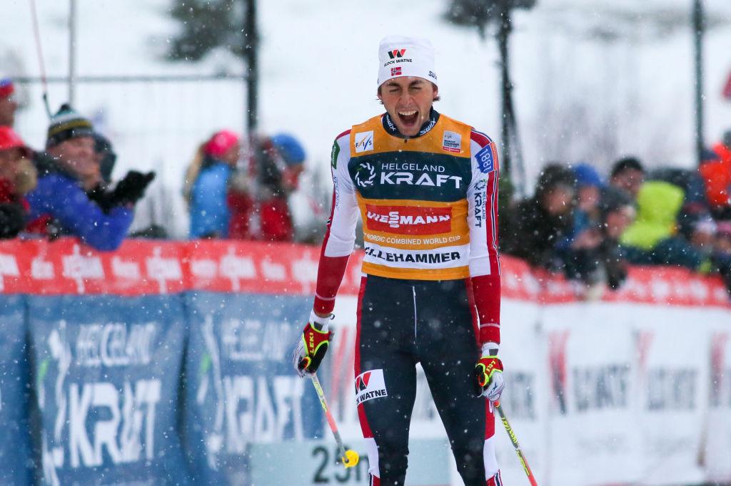 Riiber vince entrambe le gare di Trondheim e allunga in classifica generale