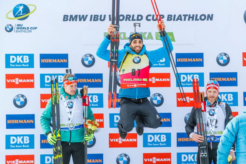 Biathlon: Martin Fourcade apre la stagione vincendo l'Individuale di Pokljuka