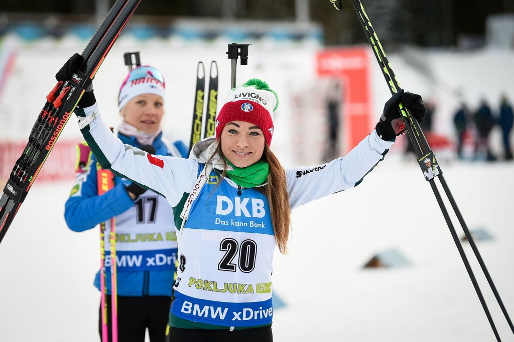 Biathlon: Dorothea Wierer favolosa, è seconda dietro a Mäkäräinen nella Sprint femminile di Pokljuka