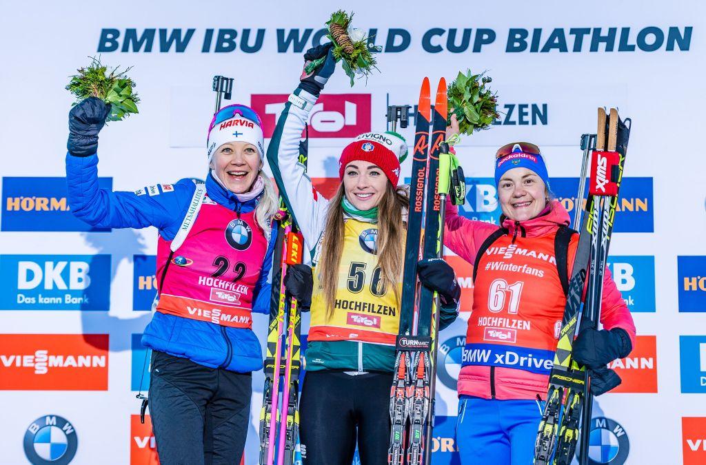 Biathlon: Dorothea Wierer trionfa nella Sprint femminile di Hochfilzen
