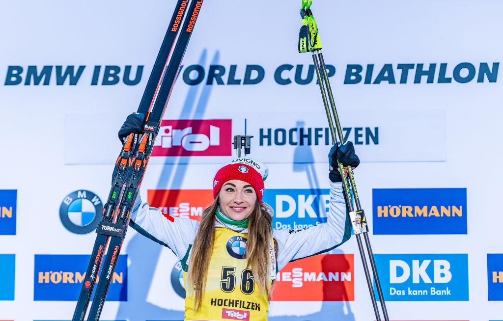 Biathlon: Inseguimento Femminile di Hochfilzen LIVE! Wierer vs Mäkäräinen atto IV