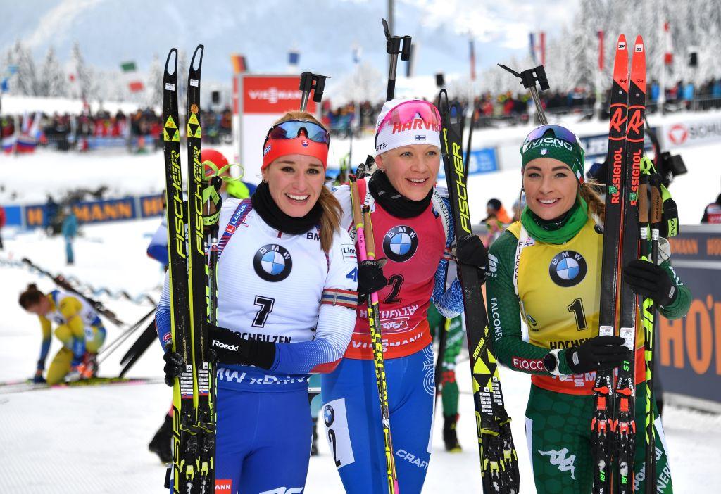 Biathlon: Dorothea Wierer: 'Sugli sci stavo benissimo'