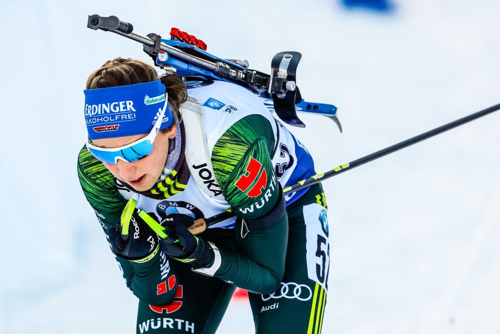 Biathlon: Franziska Preuss firma la prima vittoria stagionale della Germania nella Mass di Ruhpolding