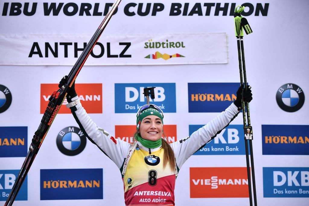 Dorothea Wierer: 'E' la vittoria più bella della mia carriera'