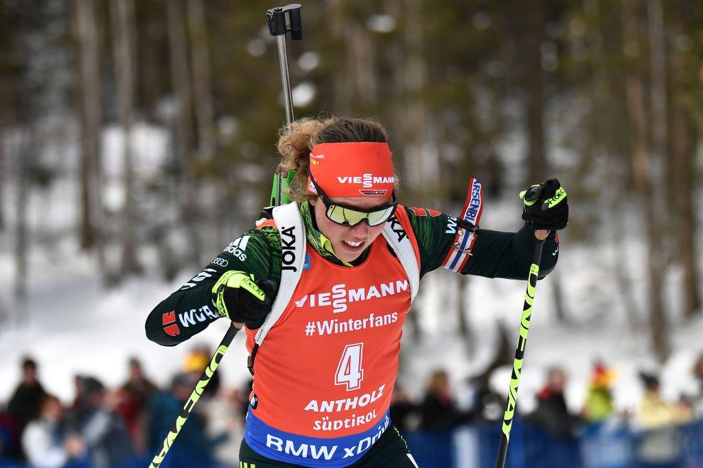 Biathlon: primo successo stagionale per Laura Dahlmeier nella Mass di Anterselva