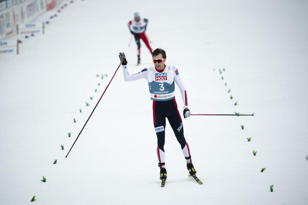 Combinata Nordica: Jarl Magnus Riiber trionfa nella prima gara di Klingenthal e vince la Coppa del Mondo