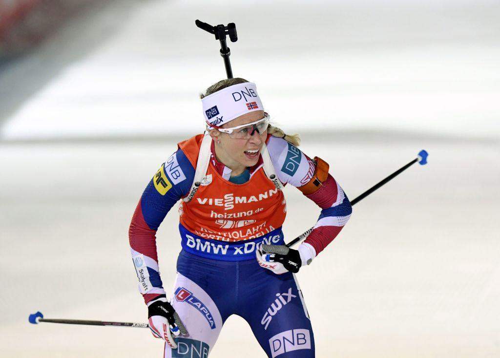 Biathlon: Tiril Eckhoff salta anche l'Individuale