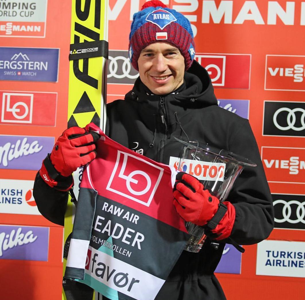Prova di forza di Kamil Stoch a Lillehammer che è sempre più vicino alla sfera di cristallo